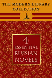 The Modern Library Collection Essential Russian Novels 4-Book Bundle by Leo Tolstoy