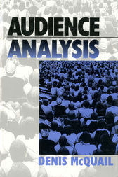Audience Analysis by Denis McQuail
