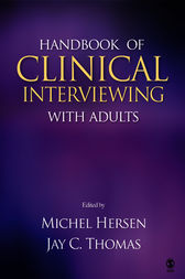 Handbook of Clinical Interviewing With Adults by Michel Hersen