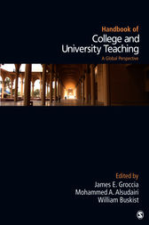 Handbook of College and University Teaching by James E. Groccia