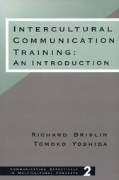 Intercultural Communication Training by Richard W. Brislin