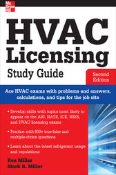 HVAC Licensing Study Guide, Second Edition by Rex Miller