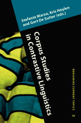 Corpus Studies in Contrastive Linguistics by Stefania Marzo