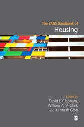 The SAGE Handbook of Housing Studies by David F Clapham