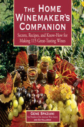The Home Winemaker's Companion by Ed Halloran