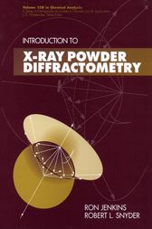 Introduction to X-Ray Powder Diffractometry by Ron Jenkins