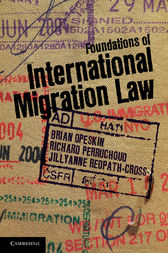 Foundations of International Migration Law by Brian Opeskin