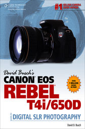 David Busch's Canon EOS Rebel T4i/650D Guide to Digital SLR Photography by David D. Busch