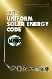 2012 Uniform Solar Energy Code by IAPMO