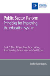 Public Sector Reform by Frank Coffield
