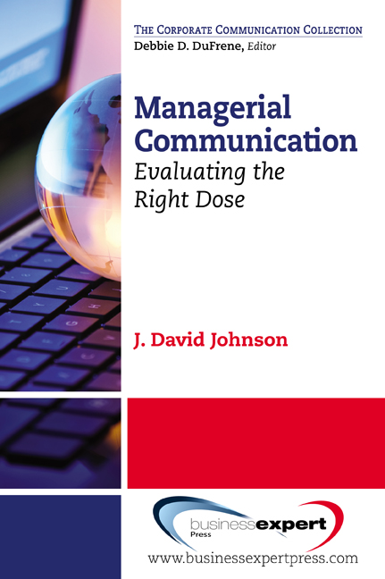 Download Ebook Managerial Communication by J. David Johnson Pdf