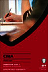 CIMA E1 by BPP Learning Media