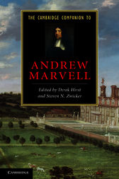 The Cambridge Companion to Andrew Marvell by Derek Hirst
