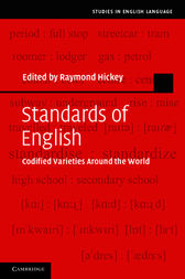 Standards of English by Raymond Hickey