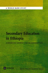 Secondary Education in Ethiopia by Rajendra Joshi