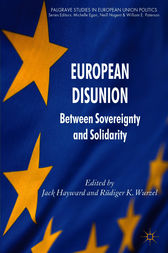 European Disunion by Jack Hayward