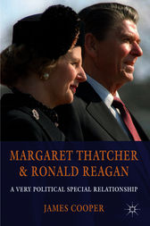 Margaret Thatcher and Ronald Reagan by James Cooper