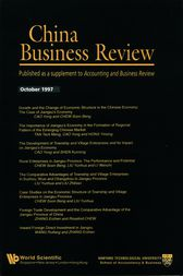CHINA BUSINESS REVIEW 1997 by World Scientific