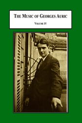 The Music of Georges Auric by Carl B. Schmidt