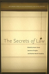 The Secrets of Law by Austin Sarat