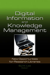 Digital Information and Knowledge Management by Sul H. Lee