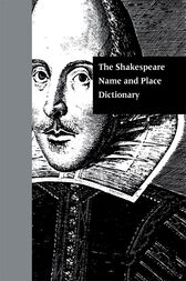 The Shakespeare Name and Place Dictionary by J. Madison Davis