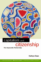 Capitalism and Citizenship by Kathryn Dean