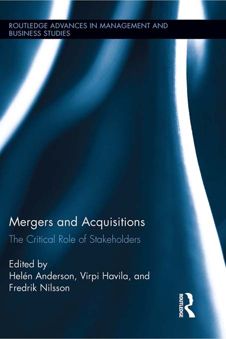 Download Ebook Mergers and Acquisitions by Helén Anderson Pdf