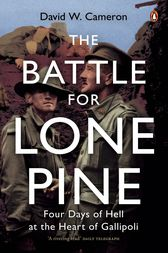 The Battle For Lone Pine by David Cameron