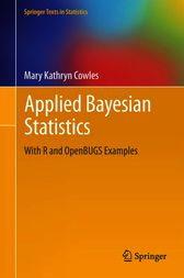 Applied Bayesian Statistics by Mary Kathryn Cowles