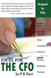 Excel for the CFO by P. K. Hari