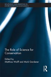 The Role of Science for Conservation by Matthias Wolff