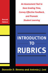 Introduction to Rubrics by Barbara E. Walvoord