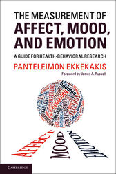 The Measurement of Affect, Mood, and Emotion by Panteleimon Ekkekakis