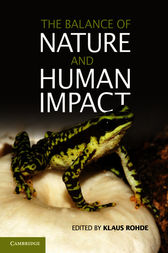 The Balance of Nature and Human Impact by Klaus Rohde