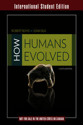 How Humans Evolved by Robert Boyd