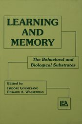 Learning and Memory by Isidore Gormezano