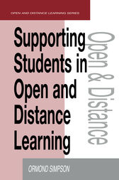 Supporting Students in Online Open and Distance Learning by Ormond Simpson