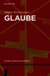 Glaube by Ansgar Beckermann