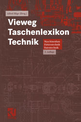 Vieweg Taschenlexikon Technik by Rainer Ahrberg