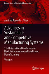 Advances in Sustainable and Competitive Manufacturing Systems by Américo Azevedo