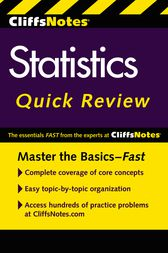 CliffsNotes Statistics Quick Review, 2nd Edition by Scott Adams