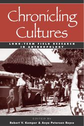 Chronicling Cultures by Robert V. Kemper