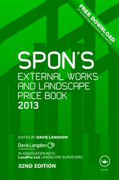 Spon's External Works and Landscape Price Book 2013 by Davis Langdon