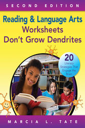 Reading and Language Arts Worksheets Don't Grow Dendrites by Marcia L. Tate