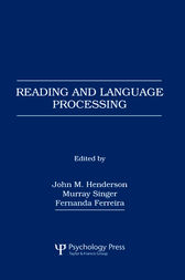 Reading and Language Processing