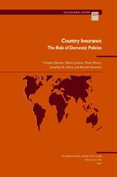 Country Insurance: The Role of Domestic Policies by Paolo Mauro
