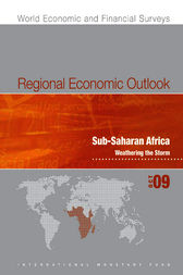 Regional Economic Outlook: Sub-Saharan Africa, October 2009 by International Monetary Fund. African Dept.