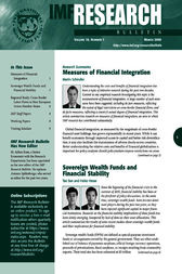 IMF Research Bulletin, March 2009 by International Monetary Fund. Research Dept.