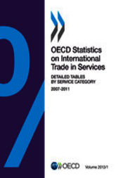 OECD Statistics on International Trade in Services, Volume 2013 Issue 1 by OECD Publishing